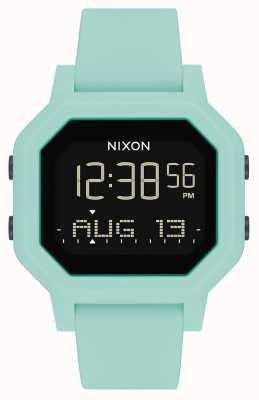Nixon Sirena | aqua | digitale | cinturino in silicone turchese A1311-2930-00