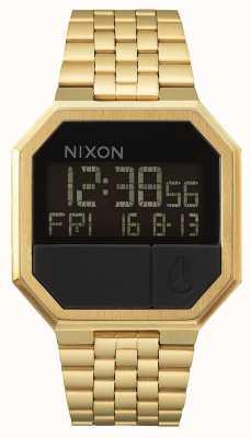 Nixon Riesegui | tutto oro | digitale | bracciale in acciaio ip oro A158-502-00