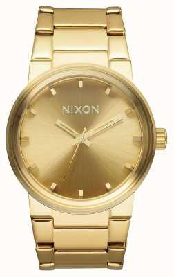 Nixon Cannone | tutto oro | bracciale in acciaio ip oro | quadrante in oro A160-502-00