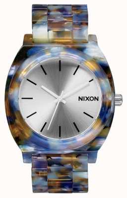 Nixon Time teller acetato | acetato acquerello | quadrante argentato A327-1116-00
