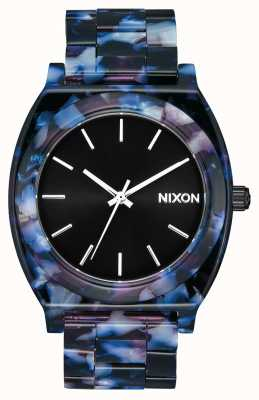 Nixon Time teller acetato | nero / multi | quadrante nero A327-2336-00