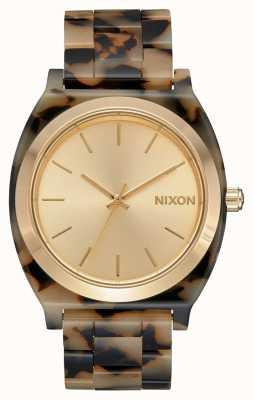 Nixon Time teller acetato | tartaruga crema | quadrante crema A327-3346-00