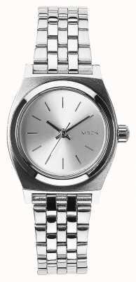 Nixon Piccolo cassiere | tutto argento | bracciale in acciaio inossidabile quadrante argentato A399-1920-00