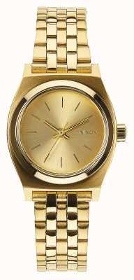 Nixon Piccolo cassiere | tutto oro | bracciale in acciaio ip oro | quadrante in oro A399-502-00