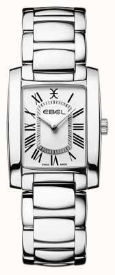 EBEL Brasilia donna | bracciale in acciaio inossidabile | quadrante bianco 1216461