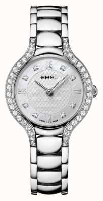 EBEL Beluga da donna | bracciale in acciaio inossidabile | quadrante in madreperla | set di diamanti 1216465
