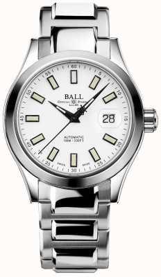 Ball Watch Company Ingegnere iii marvelight | acciaio inossidabile | quadrante bianco NM2026C-S10J-WH