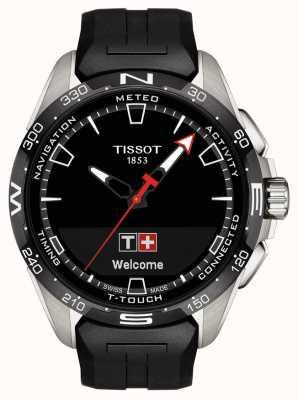 Tissot T-touch connect solar | cinturino in silicone nero T1214204705100
