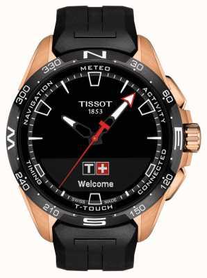 Tissot T-touch connect solar | cinturino in silicone nero T1214204705102