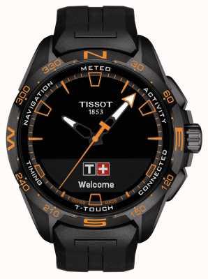 Tissot T-touch connect solar | cinturino in silicone nero T1214204705104