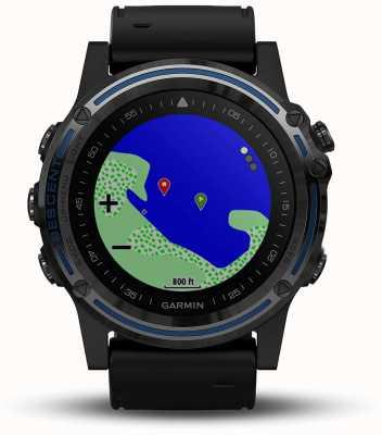 Garmin Computer da immersione Descent mk1 | zaffiro grigio con fascia nera 010-01760-12