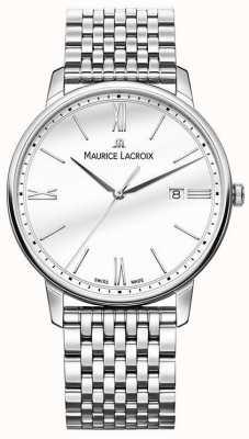 Maurice Lacroix Eliros da uomo | bracciale in acciaio inossidabile | quadrante argentato EL1118-SS002-113-2