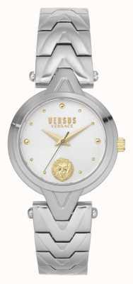 Versus Versace V_versus forlanini donna | bracciale in acciaio inossidabile | quadrante argentato VSPVN0620