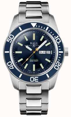 Ball Watch Company Ingegnere master ii | patrimonio skindiver | quadrante blu | bracciale in acciaio inossidabile DM3308A-S1C-BE