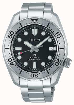 Seiko Reinterpretazione di Prospex 1968 | bracciale in titanio | quadrante nero | vetro zaffiro SPB185J1