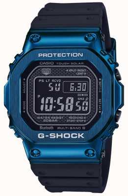 Casio G-shock blu resistente blu solare ip placcato GMW-B5000G-2ER