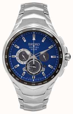 Seiko Coutura | bracciale in acciaio inossidabile | quadrante blu SSC749P1