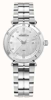 Michel Herbelin Newport | bracciale da donna in acciaio inossidabile 14288/B89
