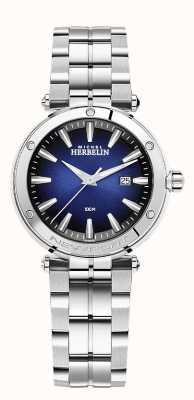 Michel Herbelin Newport donna | bracciale in acciaio inossidabile | quadrante blu 14288/B15