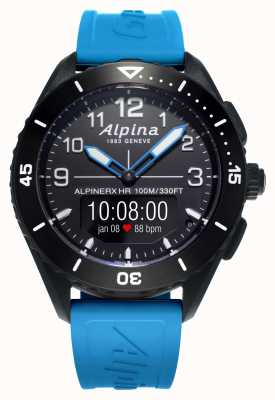 Alpina | alpinerx vivo | cinturino in caucciù blu | AL-284LBBW5AQ6