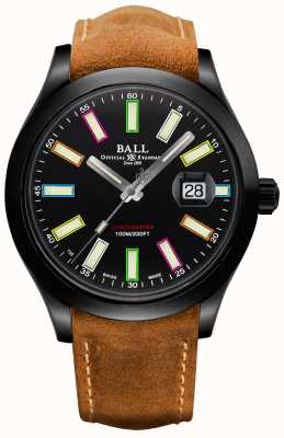 Ball Watch Company Cronometro automatico ingegnere ii arcobaleno cosc edizione limitata 43 mm in titanio NM2028C-L28CJ-BK
