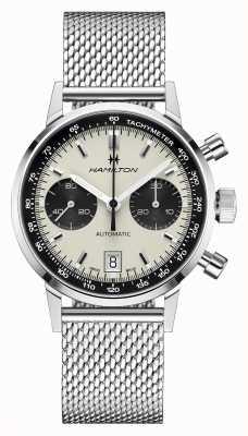 Hamilton Intra-matic mesh auto chrono american classic H38416111