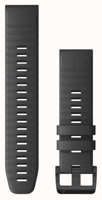 Garmin Quickfit 22 silicone grigio ardesia, hardware nero 010-12863-22