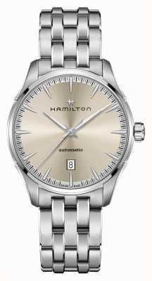 Hamilton Jazzmaster | auto | bracciale in acciaio inossidabile | quadrante champagne H32475120