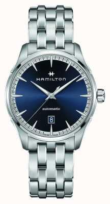 Hamilton Jazzmaster | auto | bracciale in acciaio inossidabile | quadrante blu H32475140