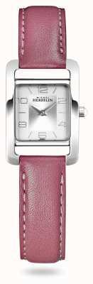 Michel Herbelin V avenue | cinturino in pelle rosa | quadrante argentato 17437/21ROZ