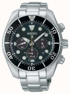 """Seiko Orologio cronografo solare """"sumo"""" prospex """"island green"""" in edizione limitata SSC807J1"""
