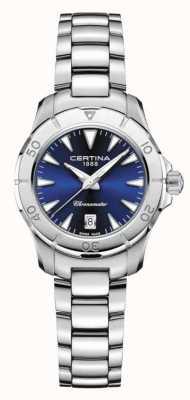 Certina Quadrante blu da donna ds action 200m C0329511104100