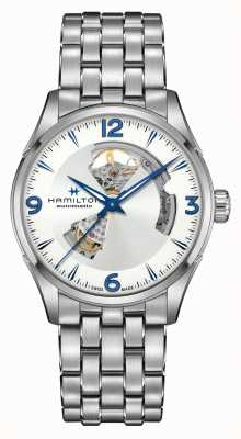 Hamilton Jazzmaster | automatico | cuore aperto | acciaio inossidabile H32705152