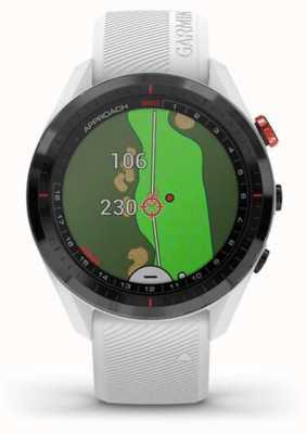 Garmin Approccio s62   golf   gps   lunetta in ceramica   silicone bianco 010-02200-01