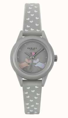 Radley Guardalo! | cinturino in silicone grigio da donna | quadrante grigio RY21257