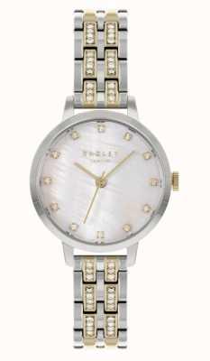 Radley | delle donne | bracciale in acciaio bicolore | quadrante bianco | RY4559