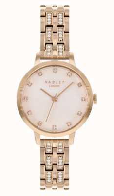 Radley | delle donne | bracciale placcato oro rosa | quadrante bianco | RY4560