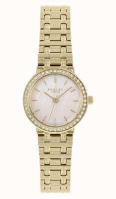 Radley | delle donne | bracciale in acciaio placcato oro | quadrante in madreperla | RY4564