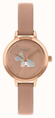 Radley Cinturino in pelle rosa da donna | quadrante rosa RY21254A