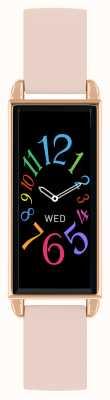 Reflex Active Orologio intelligente serie 2 | touch screen a colori | cinturino in pelle rosa RA02-2006