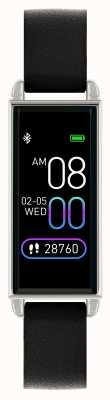 Reflex Active Orologio intelligente serie 2   touch screen a colori   cinturino in pelle nera RA02-2007