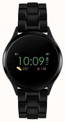 Reflex Active Orologio intelligente serie 4 | touch screen a colori | bracciale in acciaio ip nero RA04-3000