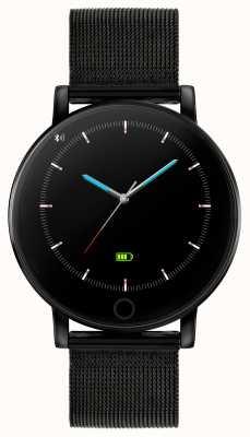 Reflex Active Orologio intelligente serie 5 | monitor HR | touch screen a colori | rete in acciaio ip nero RA05-4024
