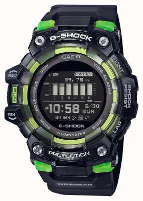 Casio G-shock | serie vitale per lo sport | cinturino in silicone nero | quadrante nero GBD-100SM-1ER