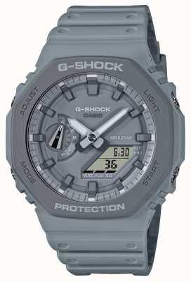 Casioak | cinturino in resina grigio | quadrante grigio GA-2110ET-8AER