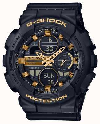 Casio Sport unisex | g-shock | cinturino in resina nera | nero dal | GMA-S140M-1AER