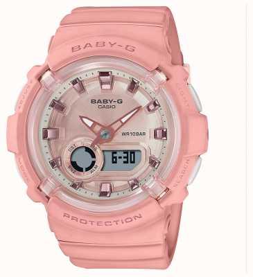 Casio Baby-g | cinturino in silicone rosa corallo | BGA-280-4AER