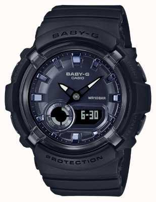 Casio Baby-g | cinturino in resina nera | quadrante nero | BGA-280-1AER
