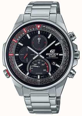 Casio Edifice | cronografo sottile con zaffiro | bracciale in acciaio inossidabile EFS-S590D-1AVUEF
