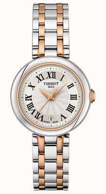 Tissot Bellissima | quadrante argento | bracciale in acciaio inossidabile bicolore T1260102201301
